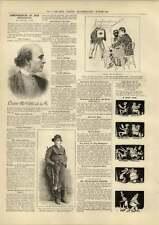 1890 Reminiscences Dion Boucicault Baby On A Battlefield