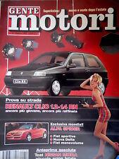 Gente Motori 10 1992 Prova Renault Clio 1.2.-1.4 RN. Esclusiva Alfa Spider [Q74]