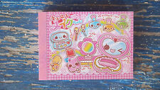 1 CRUX Kawaii Japan anime mini memo pad Make Up Lipstick Nail Polish NEW