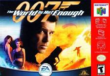 007 The World Is Not Enough - N64 Bond Game Blue