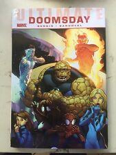 Ultimate Comics Doomsday Hardcover Bendis Marvel FF Spider-Man F4