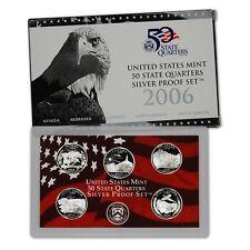 2006 US Mint State Quarter SILVER Proof Set