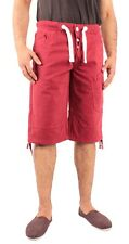 ENZO Jeans Mens Denim Shorts Regular Fit Pocket Detail Designer Casual Half Pant