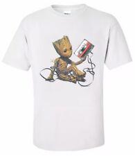 """Groot- Cassette tape t T Shirt 'All Sizes """""""
