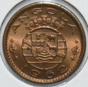 Angola 1962 20 Centavos 192516 combine