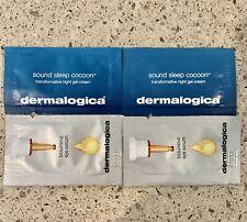 4x DERMALOGICA Samples Sound Sleep Cocoon Night Gel Cream Biolumin C Eye Serum