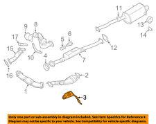 SUBARU OEM Impreza Exhaust System-Catalytic Converter & Pipe Hanger 44021FE030