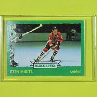 STAN MIKITA 1973-74  VINTAGE  Topps #145   Chicago BlackHawks