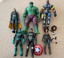 Marvel Legends Fodder Lot Of Action Figures Hulk Bishop See Description