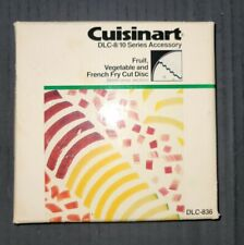 Cuisinart Fruit Vegetable French Fry Cut Disc DLC-836 6mm DLC-8/10 Series