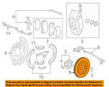 Chevrolet GM OEM 14-17 Corvette Rear Brake-Rotor 20981822