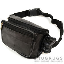 Super Soft 100% Leather Bum Bag / Waist / Travel / Money Bag