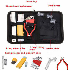 Guitar Care Tool Repair Maintenance Tech Kit Full Set