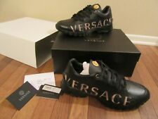 0277804e3 KITH x Versace Amico Trainer Low Size 45 (12) Black Gold Brand New DS