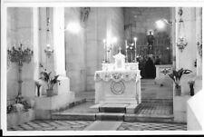 jerusalem postcard,emmaus, the sanctuary inside