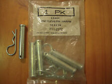 New Usa P11-237Z Clevis Pin, Zinc, 0.500x2 3/4 L, 5 Pack