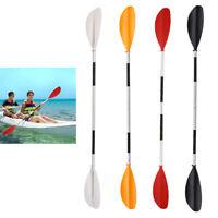 Lightweight 220cm Aluminum Boat Oars Double-ended Kayak Paddles Float Raft Canoe