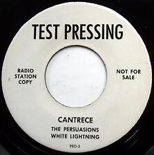 CANTRECE 45 EP Persuasions / White Lighning VG++ Doo Wop TEST PRESS Promo e6394