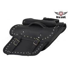 Studded Saddlebag for Harley Davidson Dyna's Great Deal