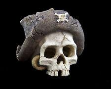 Pirate Skull Ornament Reptiles Fish Tank Aquarium