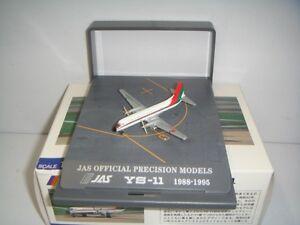 """Hogan Wings 500 Japan Air System JAS YS-11 """"Red/Green color"""" 1:500 NG Boxset"""