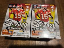 (2) TWO 2020 NFL MOSAIC Football - Sealed Blaster Boxes - Burrow, Hebert, Tua RC