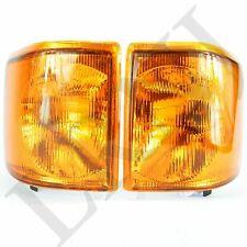 LAND ROVER DISCOVERY 1 94-99 FRONT INDICATOR LAMPS SET NEW XBD100760 & XBD100770