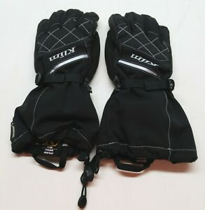 Klim Women's Matte Black Allure Gloves - 4087-002-120-001