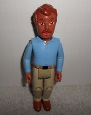 Dora The Explorer Dollhouse Father Dad Blue Shirt Tan Pants