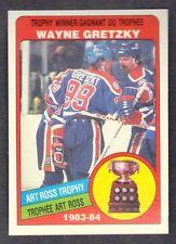 Wayne Gretzky 1984 O-PEE-CHEE Art Ross Trophy hockey card # 373