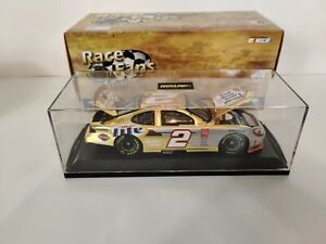 Rusty Wallace Miller Lite Car #2 Ford Taurus Action Diecast 101703 24 KT Gold