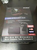 AVerMedia - Live Streamer DUO Webcam Bundle Very Good Condition CV3577
