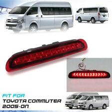 Rear LED Red Len Third Brake Light Plastic ABS For Toyota Hiace Commuter 2005-On