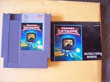 NINTENDO 1990 90 CAPTAIN SKYHAWK MILTON BRADLEY NES CAPT VIDEO GAME BOX  BOOKLET