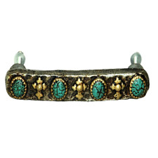 Turquoise Stone Look Drawer Pull by Montana West New!