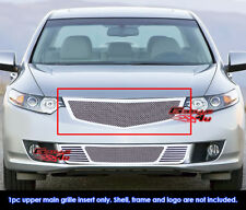 Fits 2009-2010 Acura TSX Stainless Steel Mesh Grille Grill Insert
