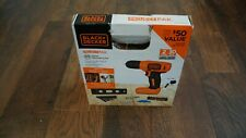 Black And Decker Drill - 44 Piece Set Unopened - Lithium Batterie