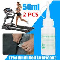 2pcs 50ml Clear Silicone Oil Lube Treadmill Belt Lubricant Running Machine Board