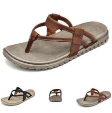 Mens Cut out Non-slip Thong Clip Toe Sports Casual Summer Beach Slippers Shoes B