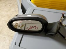 2004-2005-06-2007 JAGUAR XJ8 XJR VANDEN PLAS LEFT EXTERIOR FOLDING MIRROR SILVER