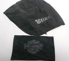 Harley Davidson Motorcycles Black Sunglasses Case Black SLIKS Do Rag Cap