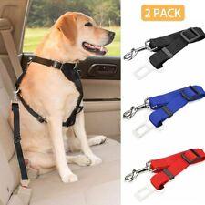 Adjustable Dog Pet Car Safety Seat Belt Harness Travel Lead Restraint Strap