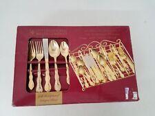 International Silver Co. 24k Gold Plated Flatware IOB