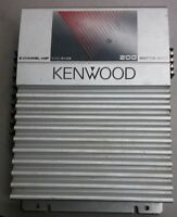 KENWOOD KAC-S426 OLD SCHOOL 2 CHANNEL CAR AMPLIFIER 200 WATTS