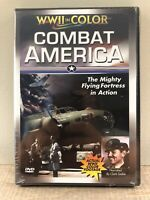 New COMBAT AMERICA WWII in Color The Mighty Flying Fortress in Action (2001,DVD)