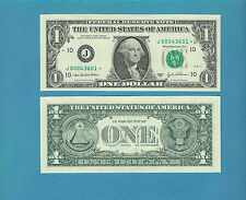 CH-CU  2003A (FW)  $1 Kansas City (J) star note - 000 Serial # start