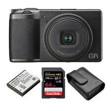Ricoh GR III Premium Compact Digital Camera w/ Spare DB-110 Battery & 64GB Card
