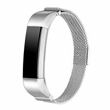 Stainless Steel Small-Large Wristband Band Strap Bracelet For Fitbit Alta & HR