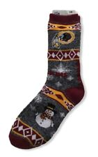 Washington Redskins NFL American Football Snowman Christmas Design Gift Socks