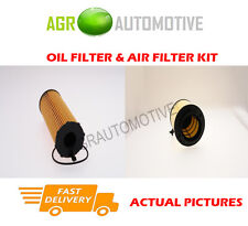 DIESEL SERVICE KIT OIL AIR FILTER FOR AUDI A4 2.7 163 BHP 2008-08